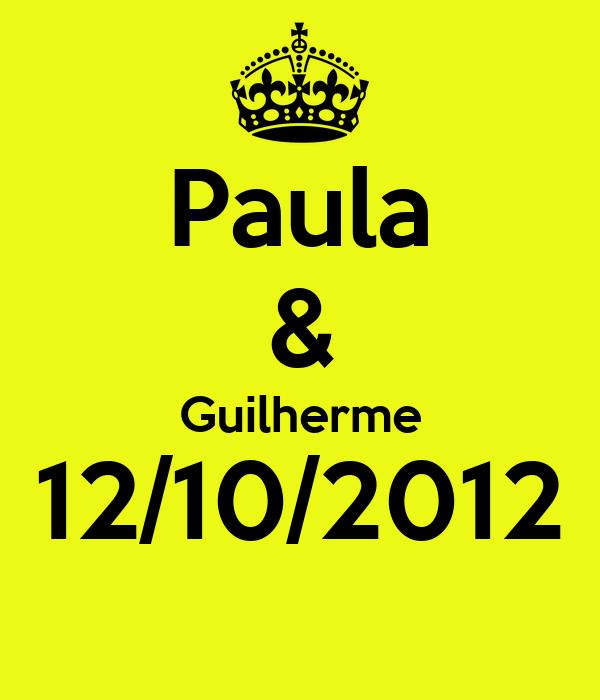 Paula & Guilherme 12/10/2012