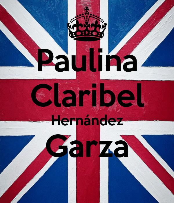 Paulina Claribel Hernández Garza
