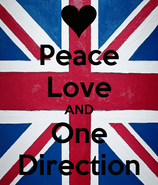 Peace Love AND One Direction