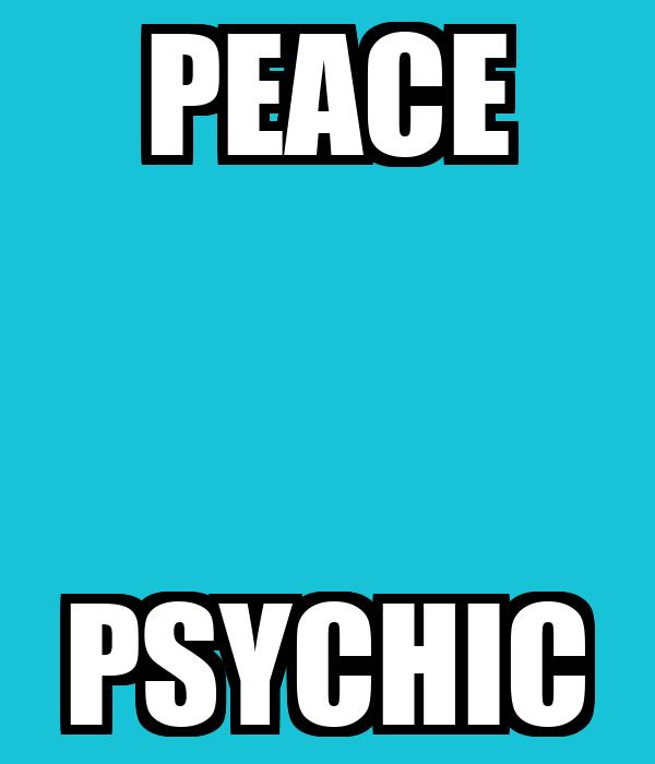 PEACE PSYCHIC