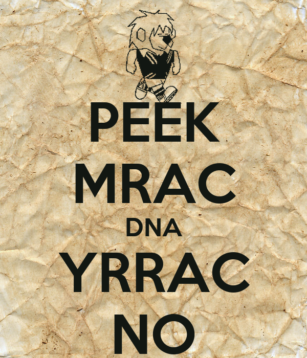 PEEK MRAC DNA YRRAC NO