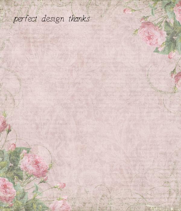 perfect design thanks
