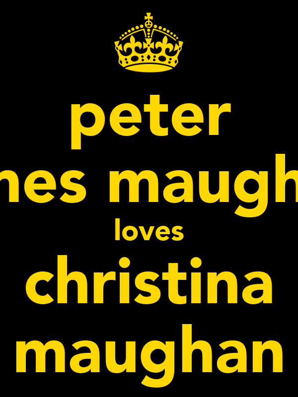peter james maughan loves christina maughan