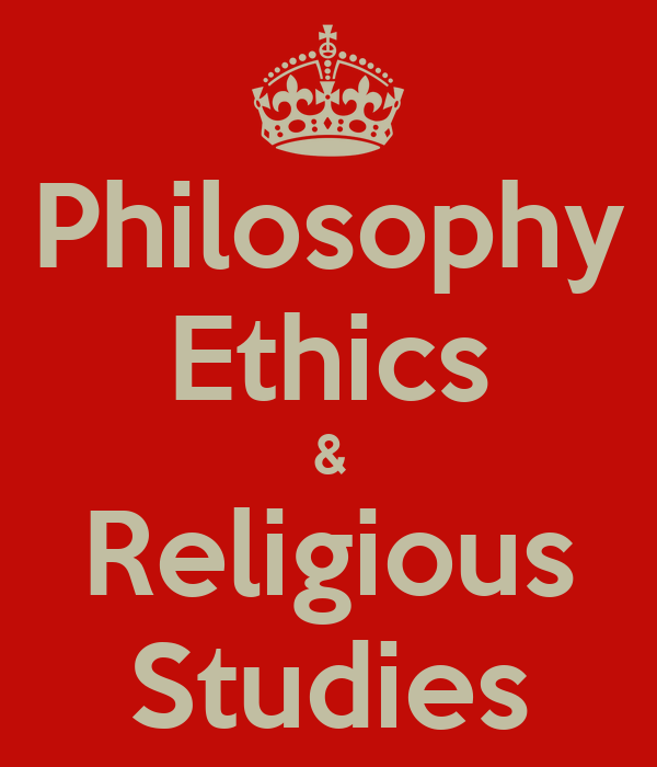Religious Studies: Philosophy Ethics & Religious Studies Poster