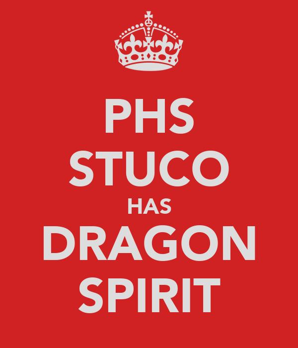 PHS STUCO HAS DRAGON SPIRIT