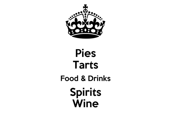 Pies Tarts Food & Drinks Spirits Wine