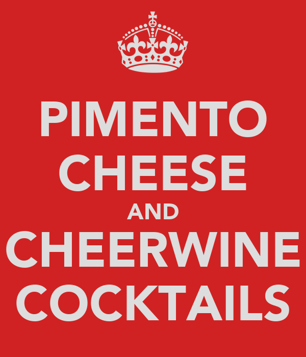 PIMENTO CHEESE AND CHEERWINE COCKTAILS
