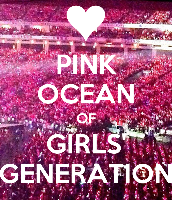 PINK OCEAN OF GIRLS' GENERATION