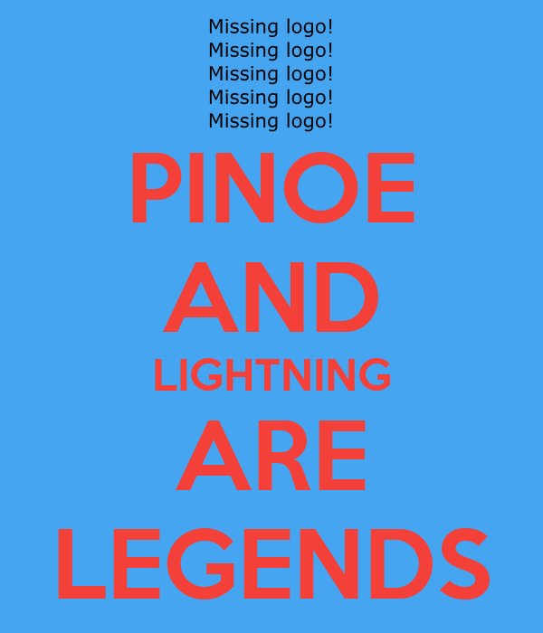 PINOE AND LIGHTNING ARE LEGENDS