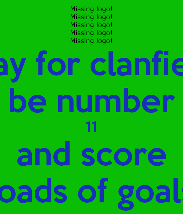 play for clanfield be number 11 and score loads of goals