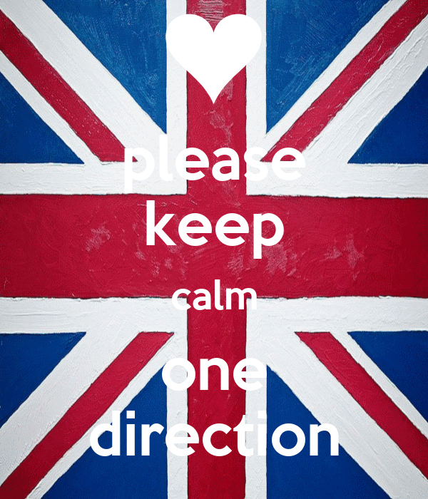 please keep calm one direction