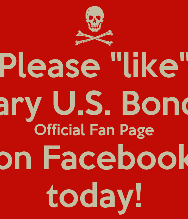 """Please """"like"""" Gary U.S. Bonds' Official Fan Page on Facebook today!"""