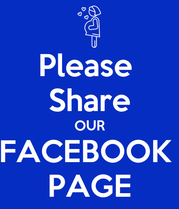 Please Share OUR FACEBOOK PAGE Poster | Cheekimonkeys ...