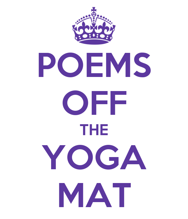 POEMS OFF THE YOGA MAT
