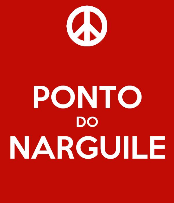 PONTO DO NARGUILE