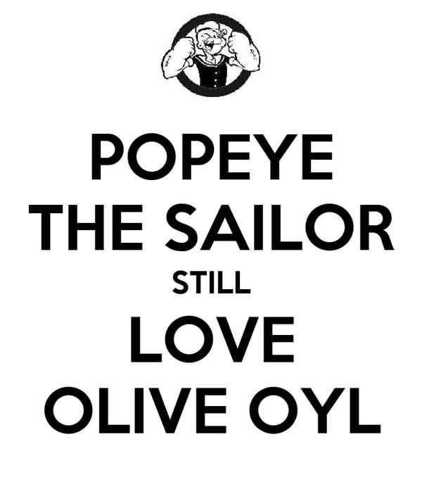 POPEYE THE SAILOR STILL LOVE OLIVE OYL