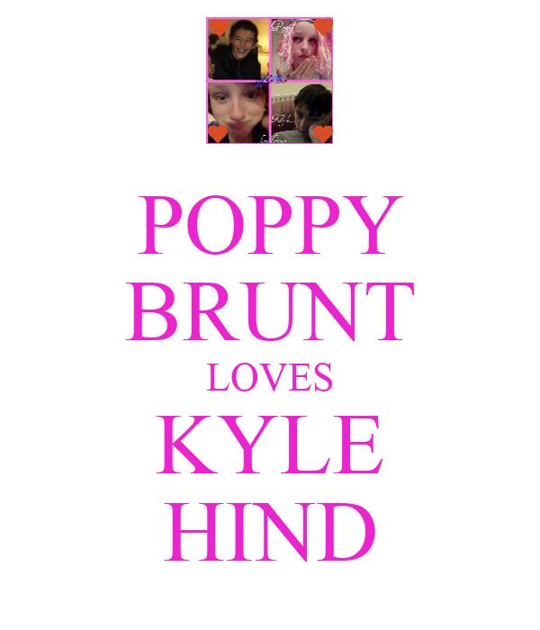 POPPY BRUNT LOVES KYLE HIND