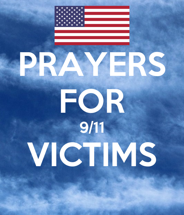 PRAYERS FOR 9/11 VICTIMS