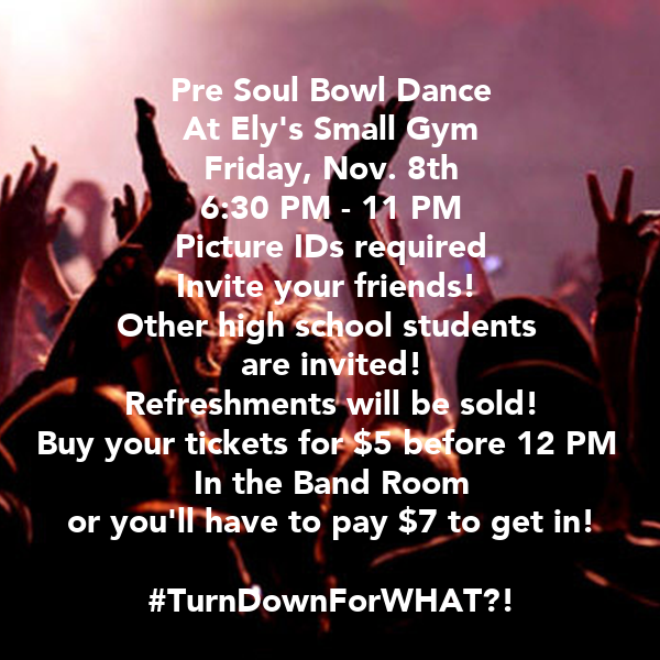 Pre Soul Bowl Dance