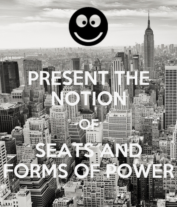 place and forms of power