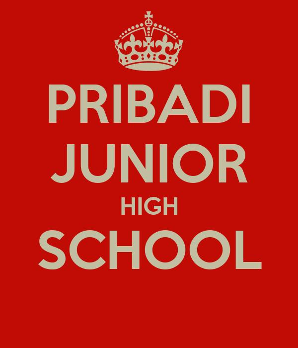 PRIBADI JUNIOR HIGH SCHOOL