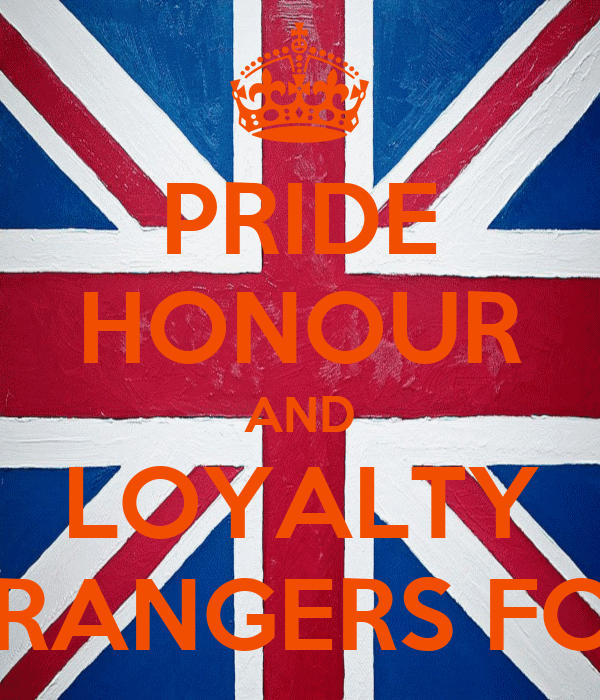 PRIDE HONOUR AND LOYALTY RANGERS FC
