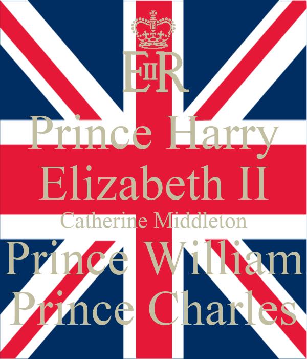 Prince Harry Elizabeth II Catherine Middleton Prince William Prince Charles