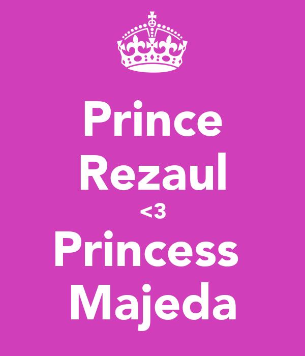 Prince Rezaul <3 Princess  Majeda