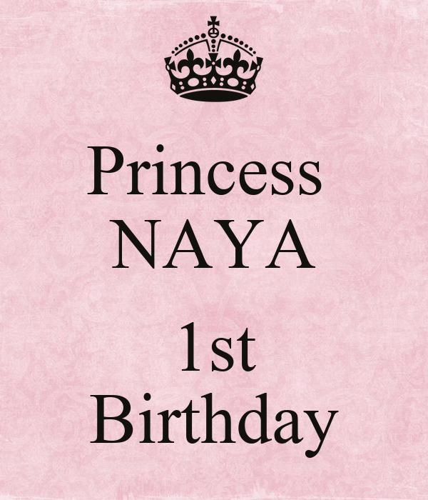 Princess  NAYA  1st Birthday