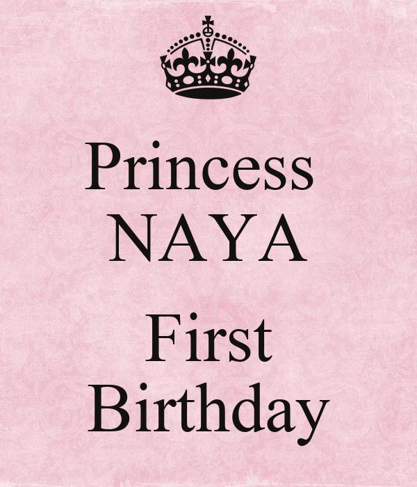Princess  NAYA  First Birthday