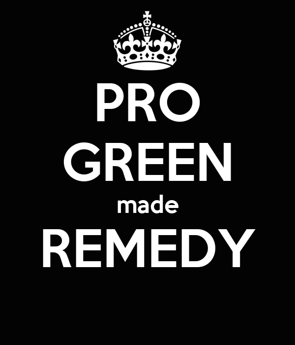 PRO GREEN made REMEDY