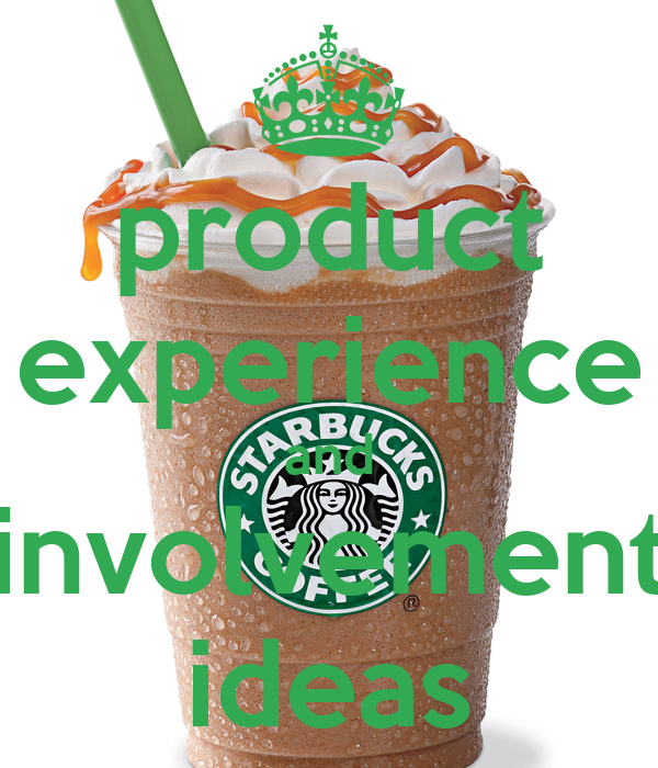 product experience and involvement ideas