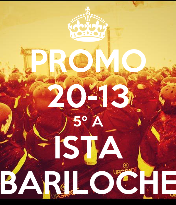 PROMO 20-13 5º A ISTA BARILOCHE