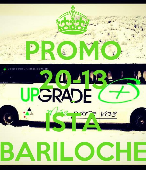 PROMO 20-13 - ISTA BARILOCHE