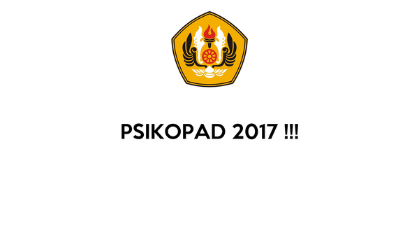 PSIKOPAD 2017 !!!