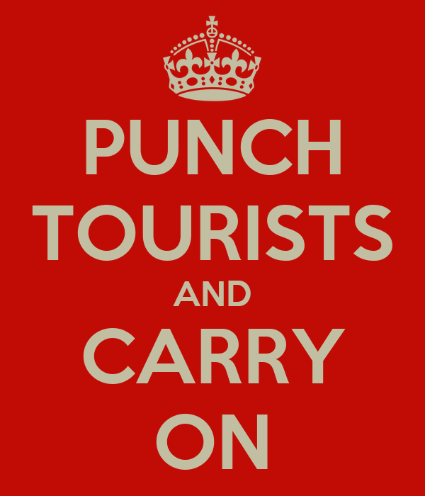 PUNCH TOURISTS AND CARRY ON