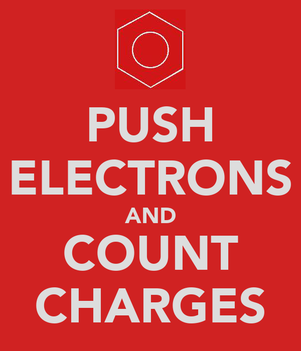 PUSH ELECTRONS AND COUNT CHARGES