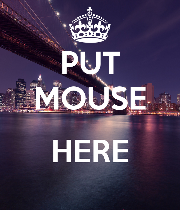 PUT MOUSE  HERE