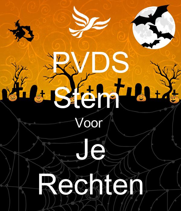 PVDS Stem  Voor  Je Rechten