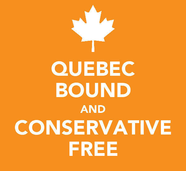 QUEBEC BOUND AND CONSERVATIVE FREE