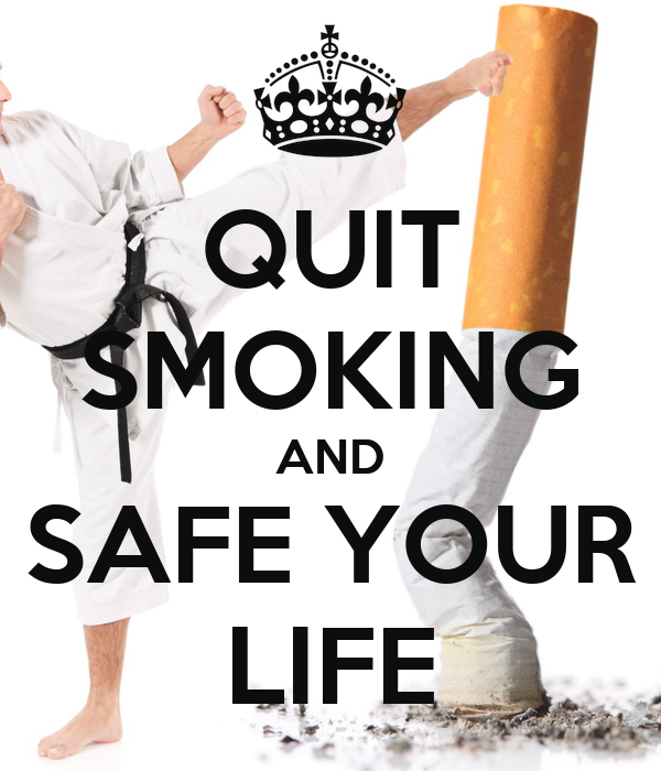 QUIT SMOKING AND SAFE YOUR LIFE
