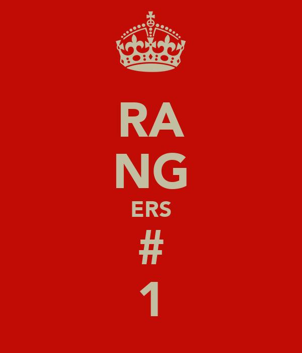 RA NG ERS # 1