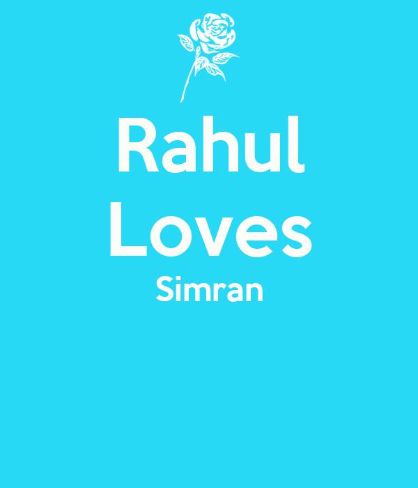 Rahul Loves Simran