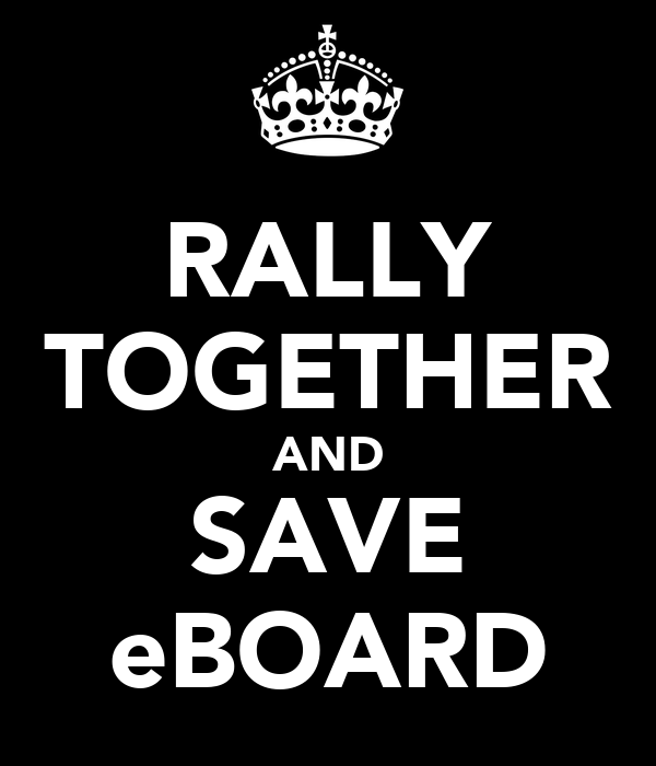 RALLY TOGETHER AND SAVE eBOARD