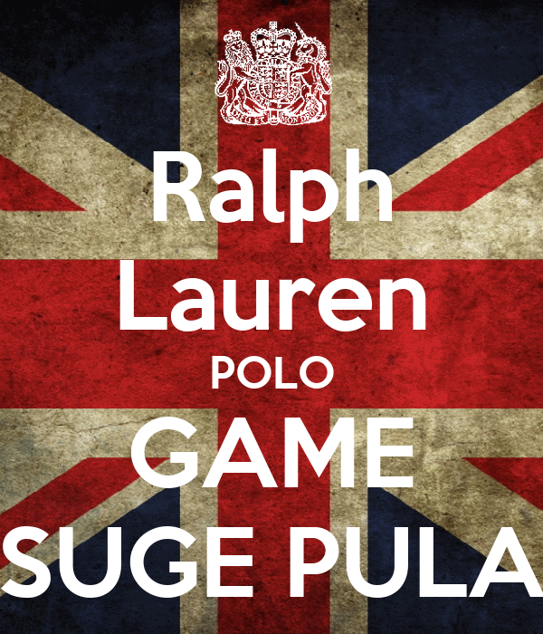 Ralph Lauren POLO GAME SUGE PULA