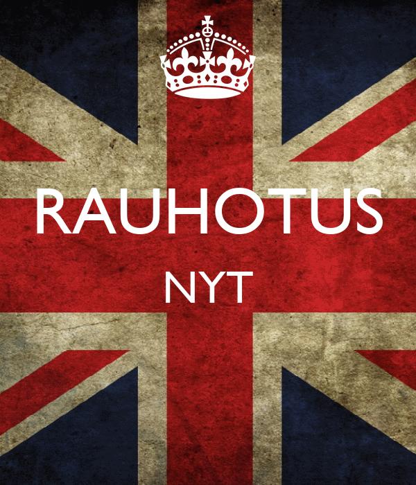RAUHOTUS NYT