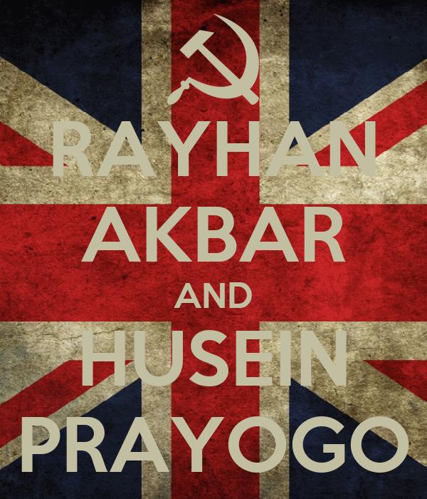 RAYHAN AKBAR AND HUSEIN PRAYOGO