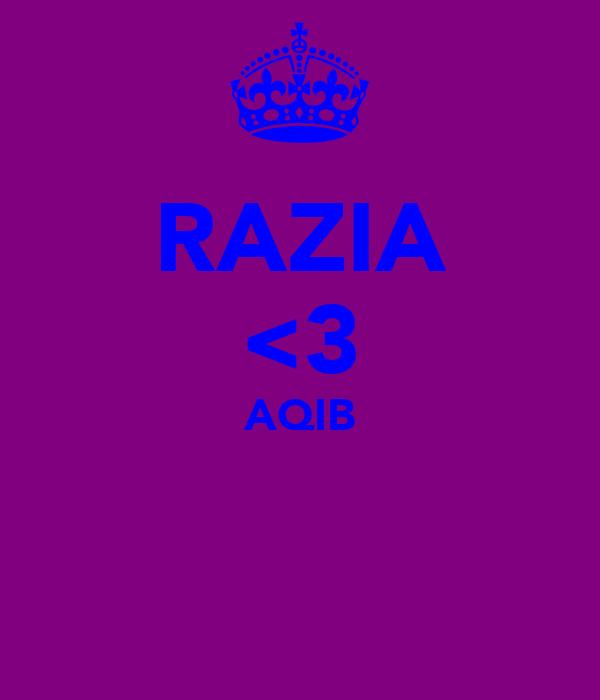 RAZIA <3 AQIB