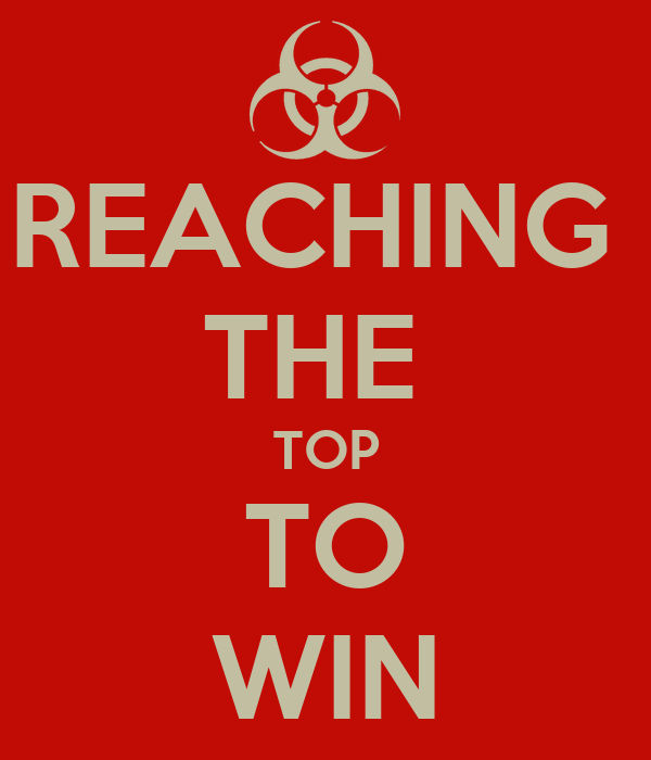 REACHING  THE  TOP TO WIN