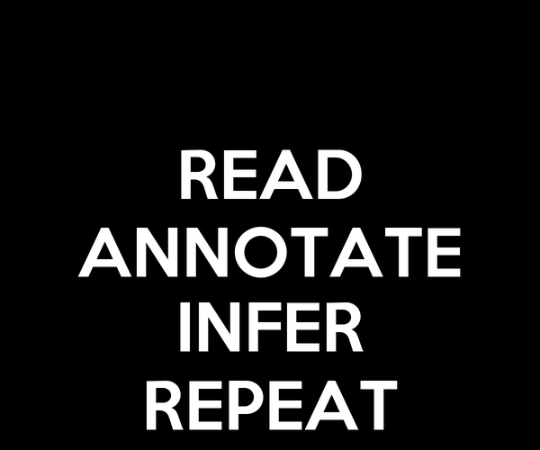 READ ANNOTATE  INFER REPEAT